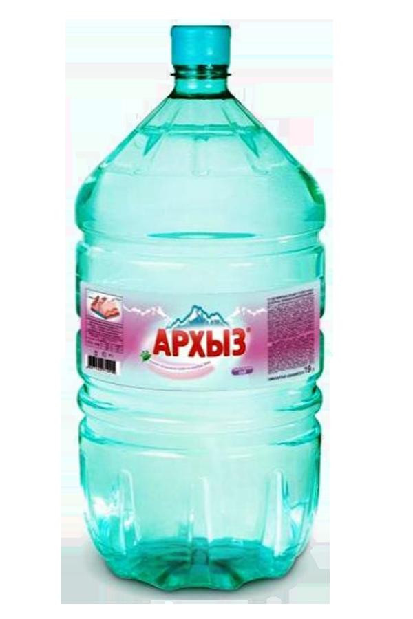 Горная вода «Архыз» в одноразовой таре