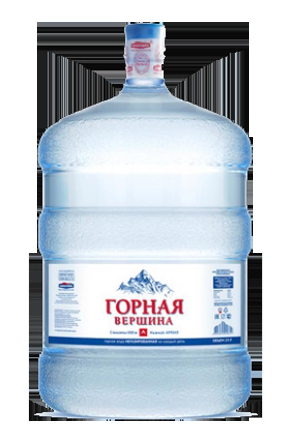 Минеральная вода «Горная Вершина»