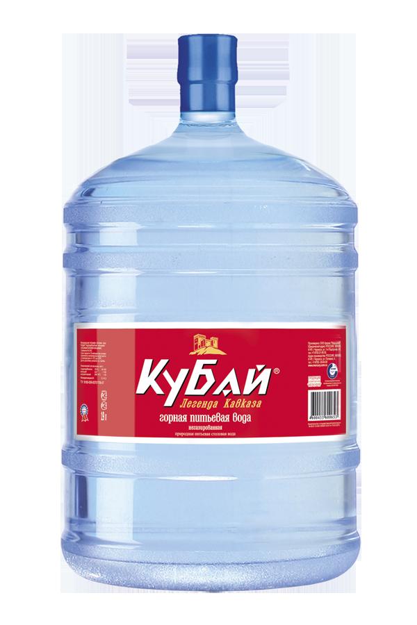 Горная вода «Кубай»