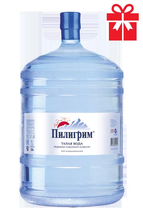 Талая ледниковая вода «Пилигрим»